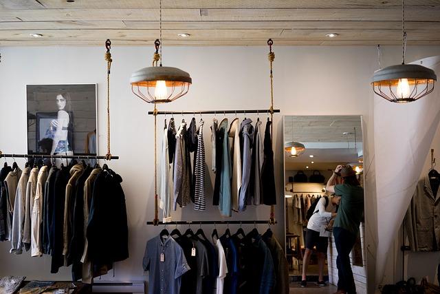衣料品店で使える英会話表現
